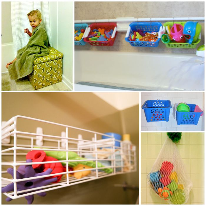 How To Bath Toys Cover An Ordinary Storage