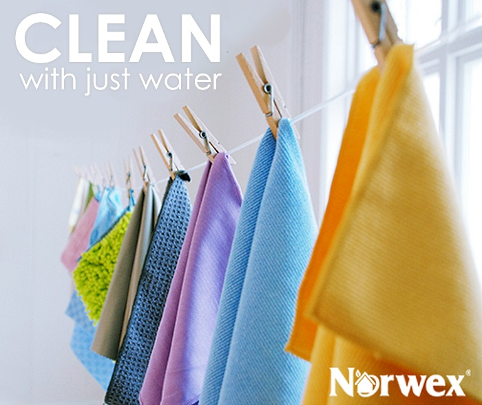 clean with just water
