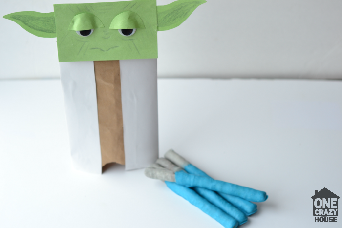 lightsaber pretzels and yoda