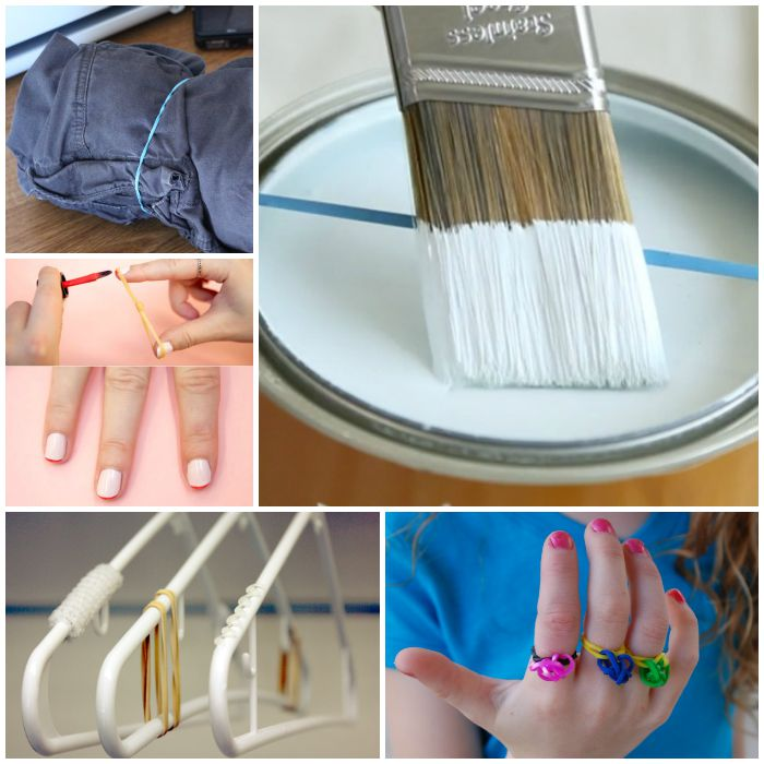 Rubber Band Hacks for the Home