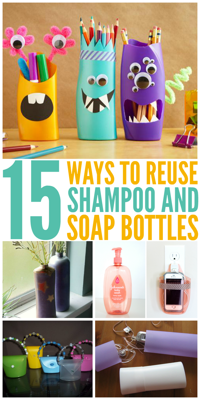 15 Ways To Reuse Shampoo And Soap Bottles Instead Of -4306