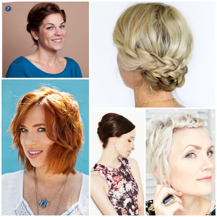 Fun Style for Short Hair Simple Styles ...