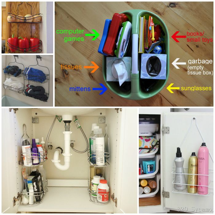 Super Smart Shower Caddy Hacks