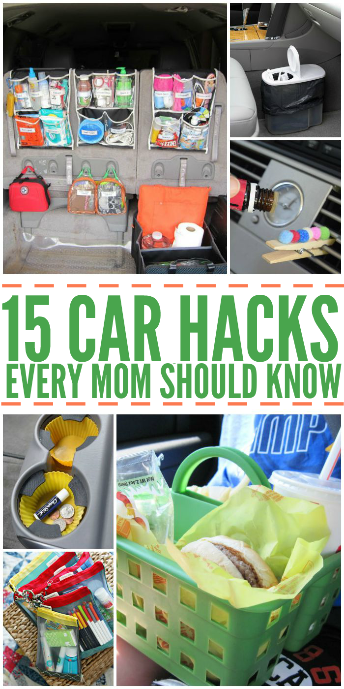 15 Car Hacks Every Mom Should Know