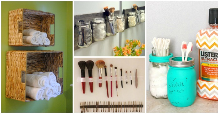 Brilliant Ideas for an Organized Bathroom