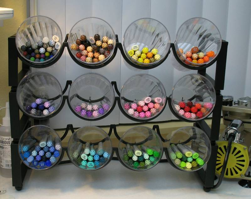 Crafty ways to organize your craft supplies for How to store craft supplies