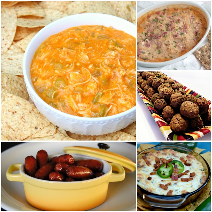 crock pot appetizer recipes