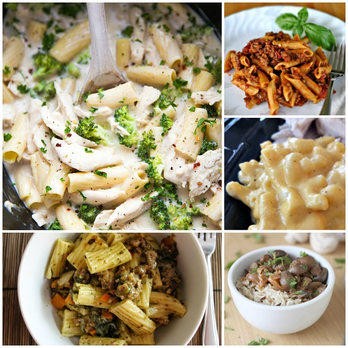 crock pot pasta recipes