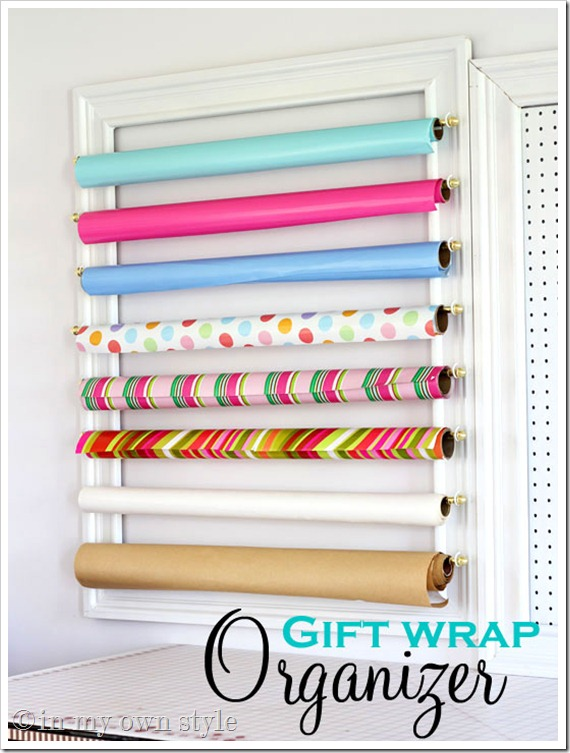 gift wrap storage ideas 4