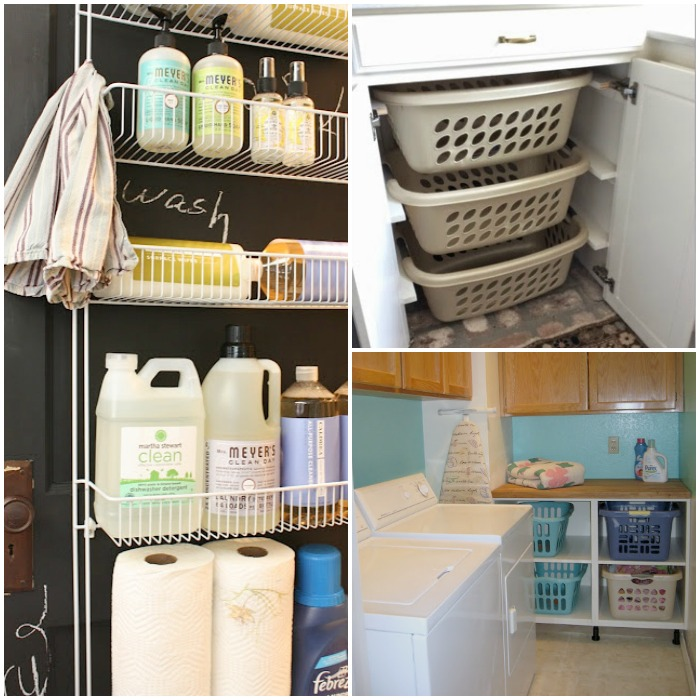 17 tips and tricks for an organized laundry room for How to add a laundry room to your house