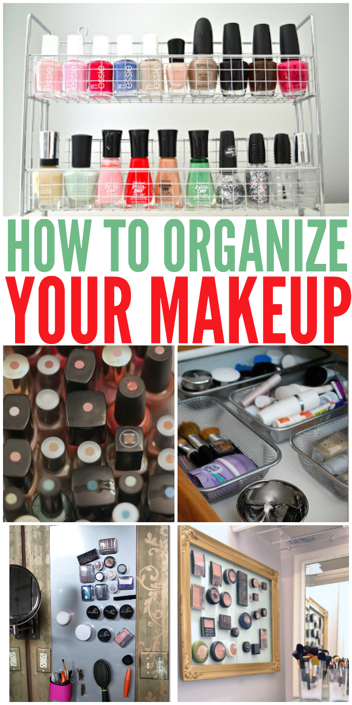 Clever Ways to Organize Your Makeup Stash