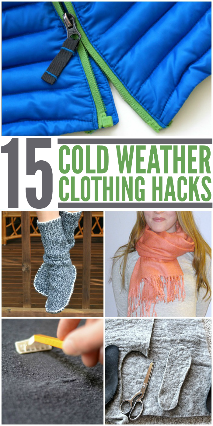 Winter Clothing Hacks - Tips and Tricks for Cold Weather