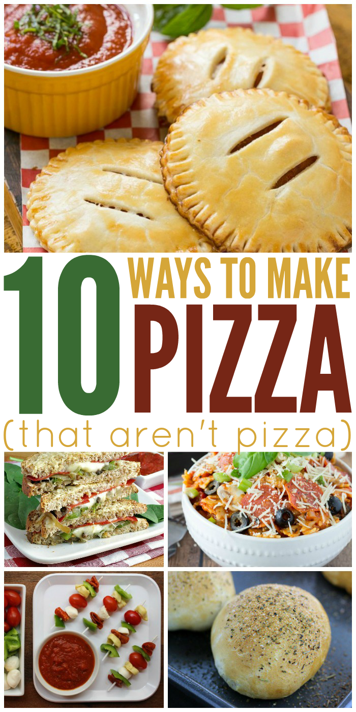 10 Ways to Make Pizza That Aren't Pizza