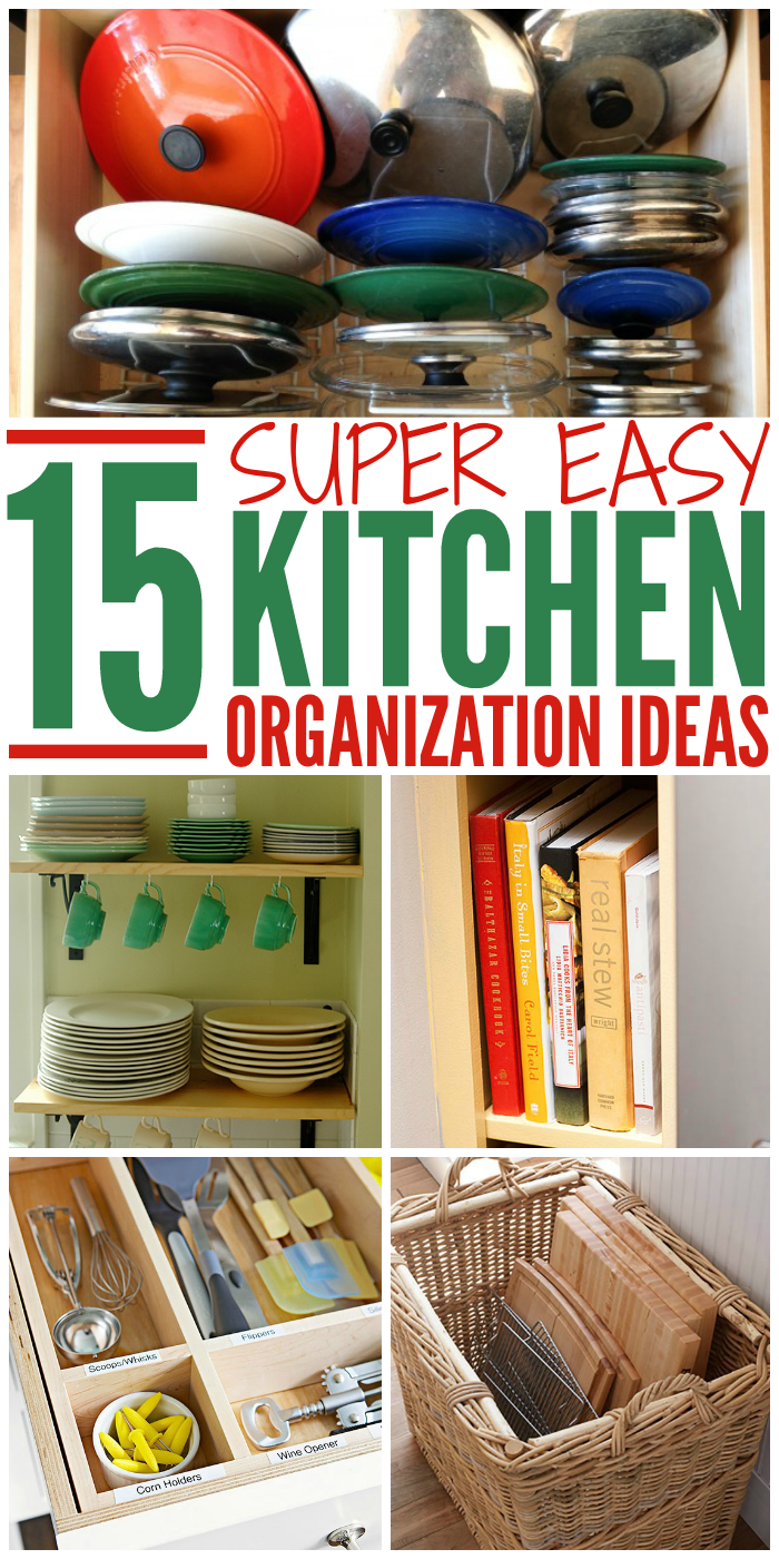 Every Kitchen Could Use A Little Organization Check Out These Easy Diy Tips And