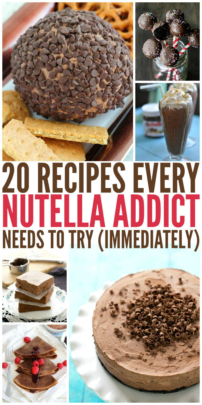 20 Recipes Every Nutella Addict Will Love