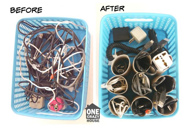 Tangled up cords? Never again!