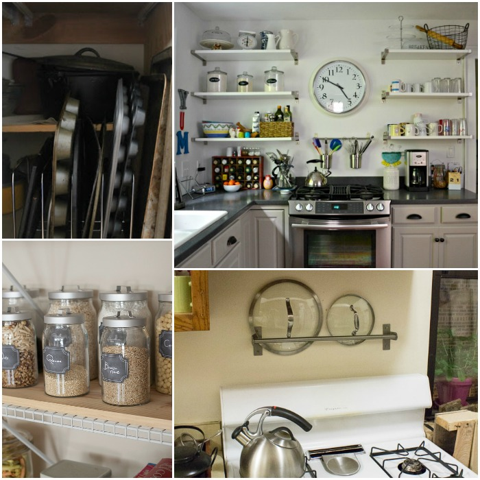 15 super easy kitchen organization ideas for Ideas organizing kitchen cabinets
