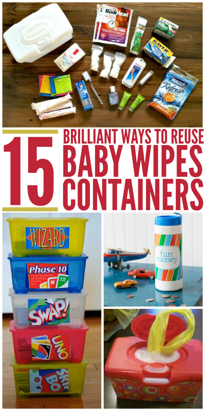 15 Brilliant Ways to Reuse Baby Wipes Cases