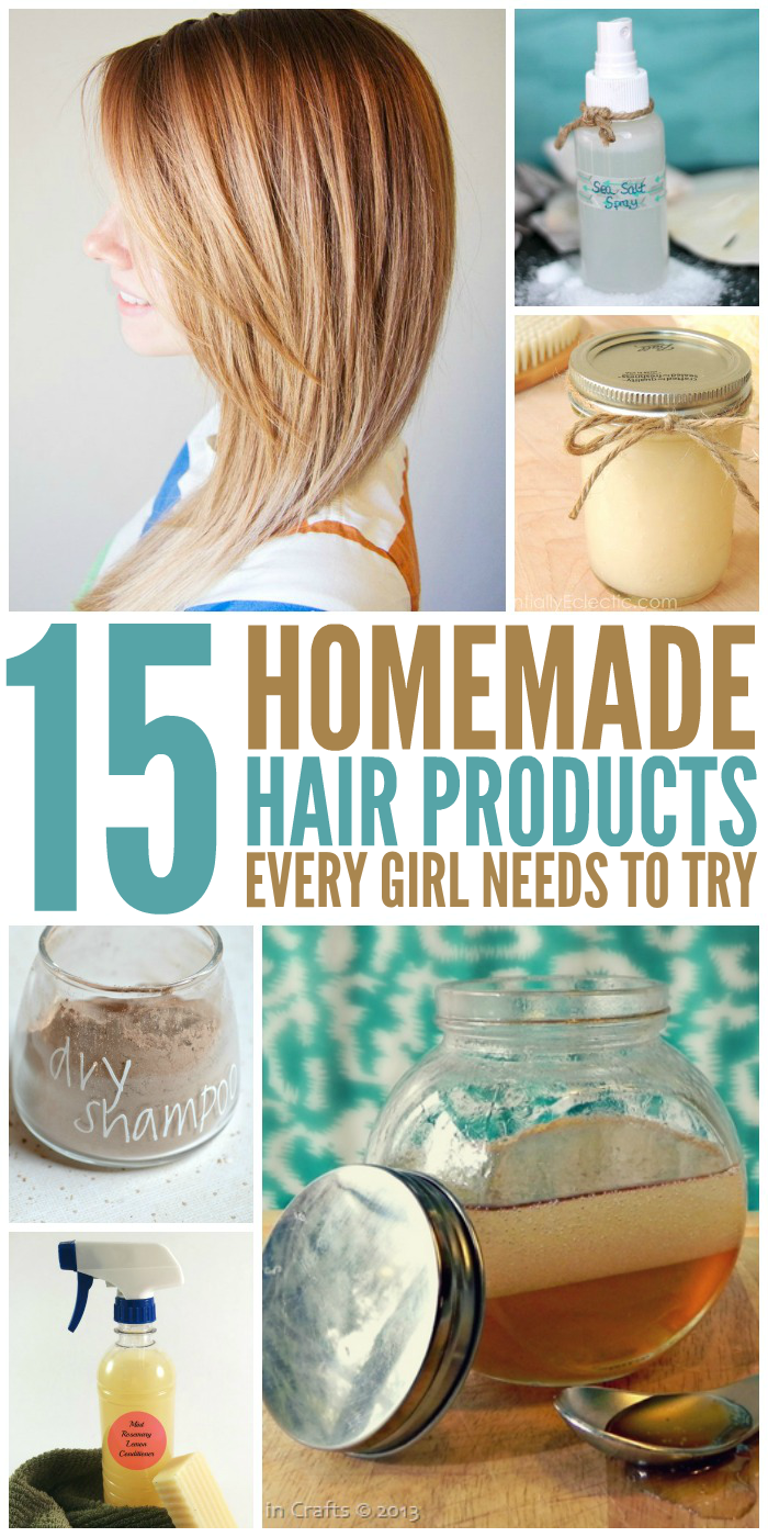 15 DIY Hair Products Every Girl Needs to Try