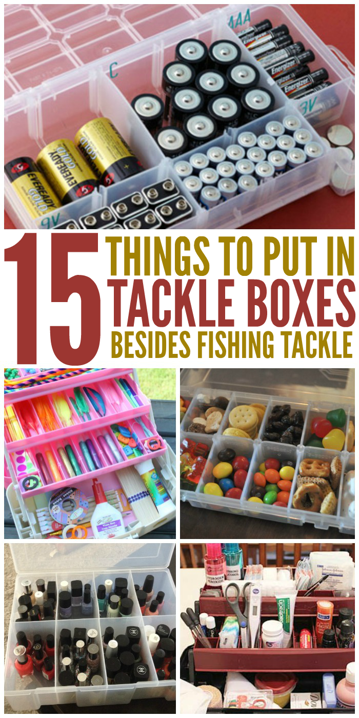 15 Things to Put in a Tackle Box
