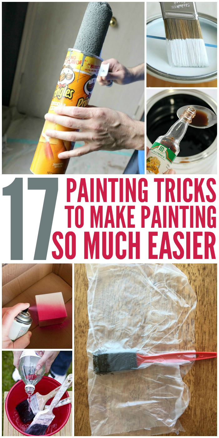 17 Painting Tricks to Make Painting Easier