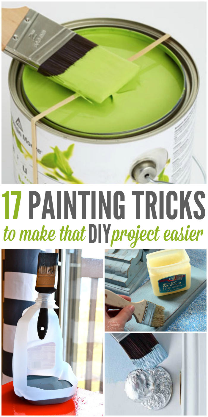 17 Painting Tricks to Make that DIY Project Easier