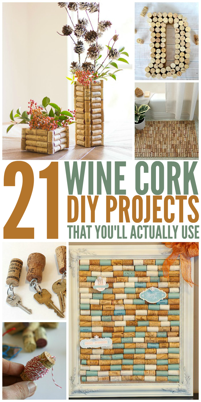 21 Wine Cork Crafts Youll Actually Use-4708