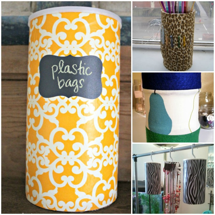 Repurpose Oatmeal Canisters