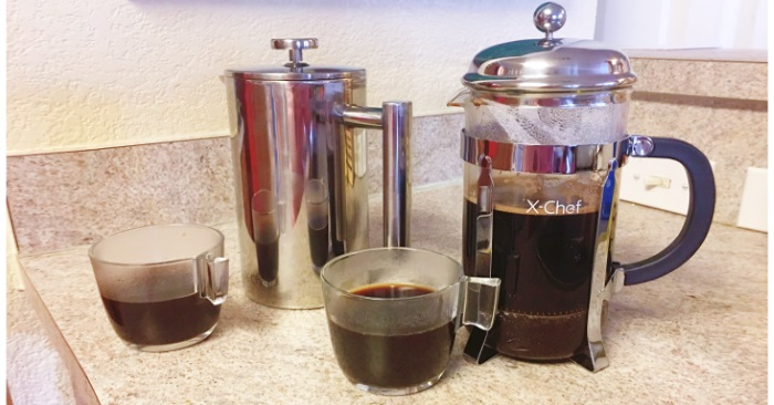 french press wide