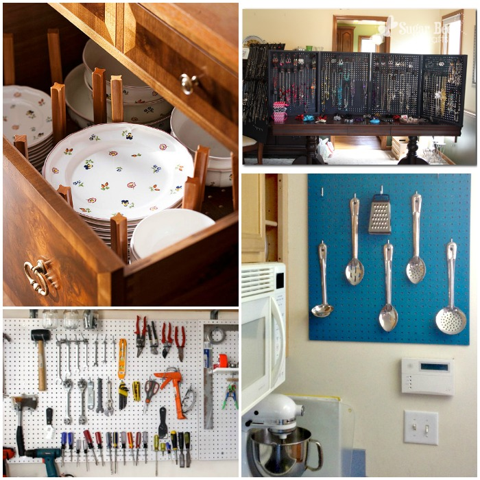 pegboard organization ideas 1
