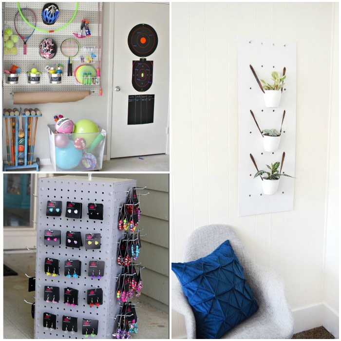 pegboard organization ideas 2