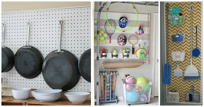 16 Creative Ways To Organize With Pegboards