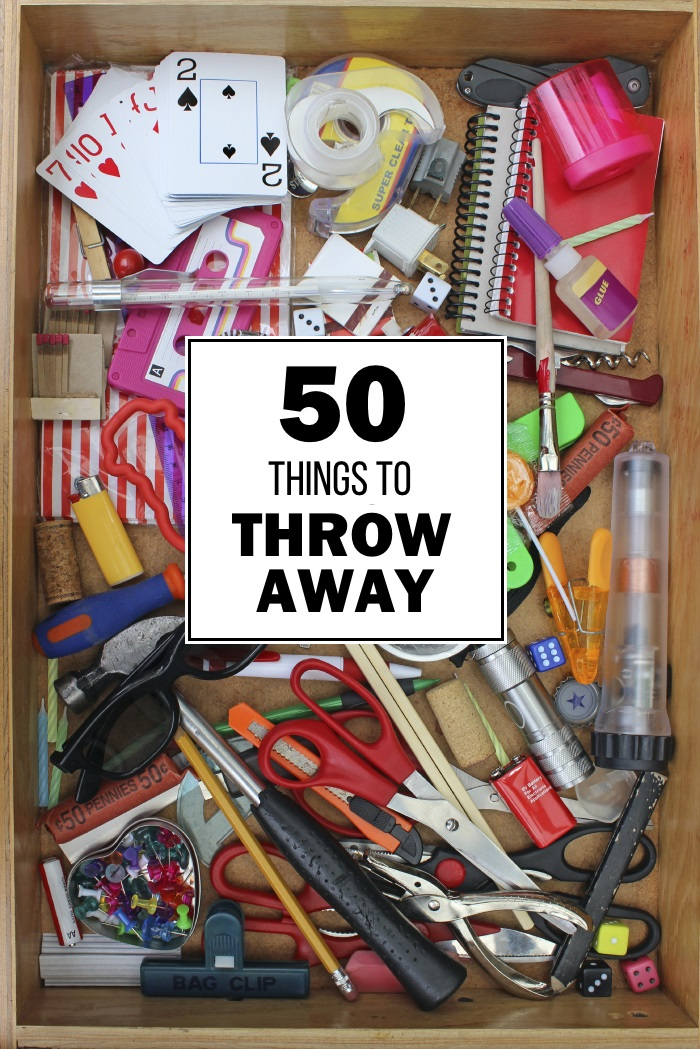 things to throw away