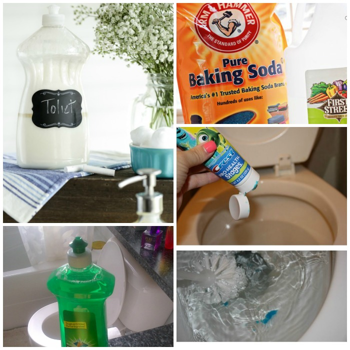toilet cleaning tips and tricks