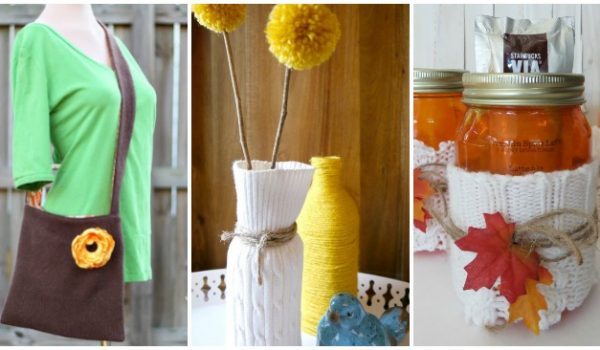 ways to reuse old sweaters