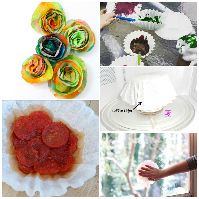 Weird Ways to Use Coffee Filters