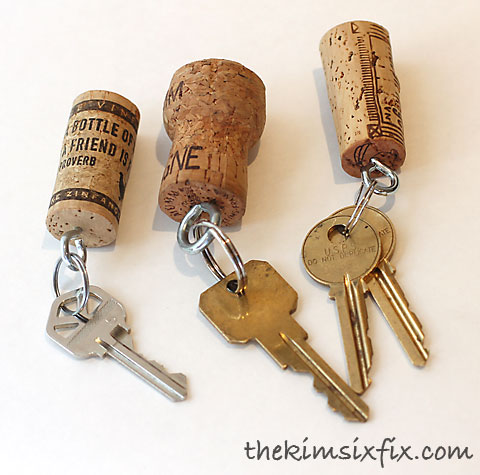 Diy Wine Cork Christmas Craft Projects