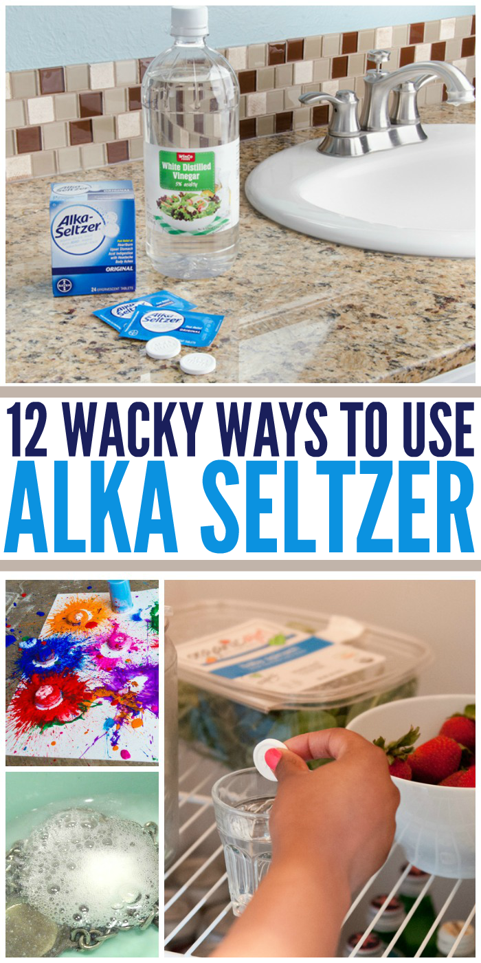 12 Wacky Ways to Use Alka Seltzer