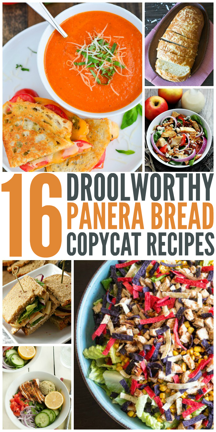 16 Panera Bread Copycat Recipes You'll Want to Eat Every Day