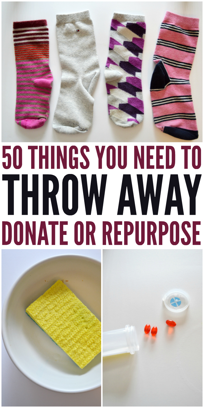 50 things you need to throw away to avoid hoarding for Things you need for a house