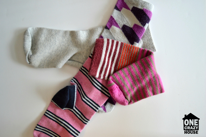 50 Things You Need to Toss - Mismatched Socks