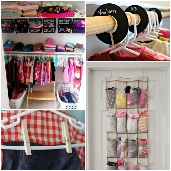 c4926847edd 15 Totally Genius Ways to Organize Baby Clothes