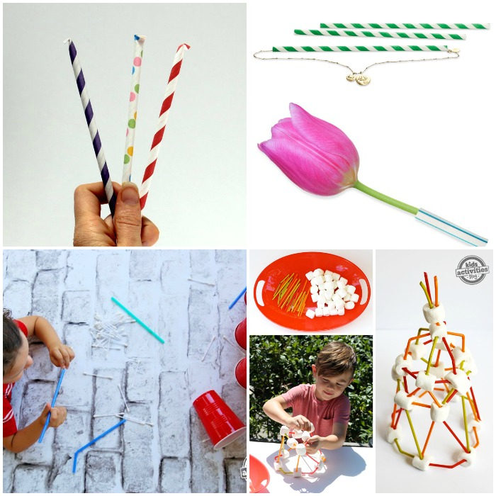 Creative Ways to Use Beverage Straws