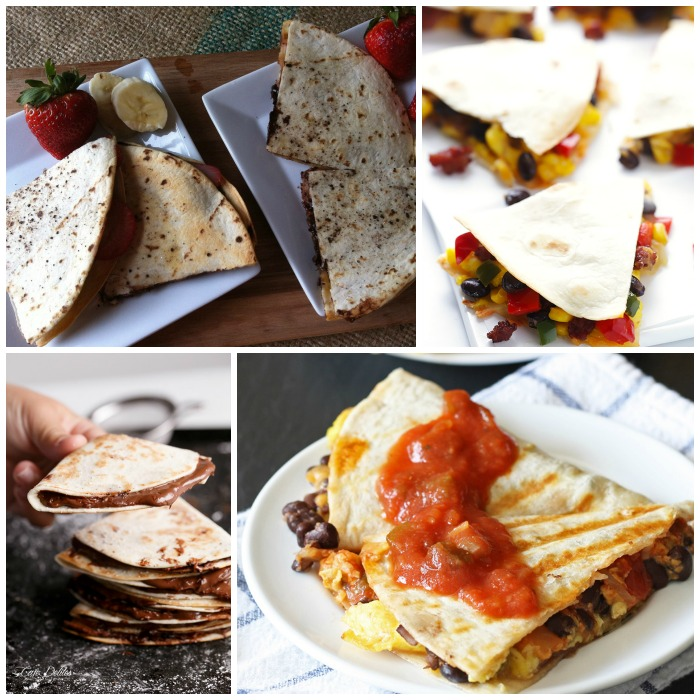 breakfast quesadillas to tempt your tastebuds