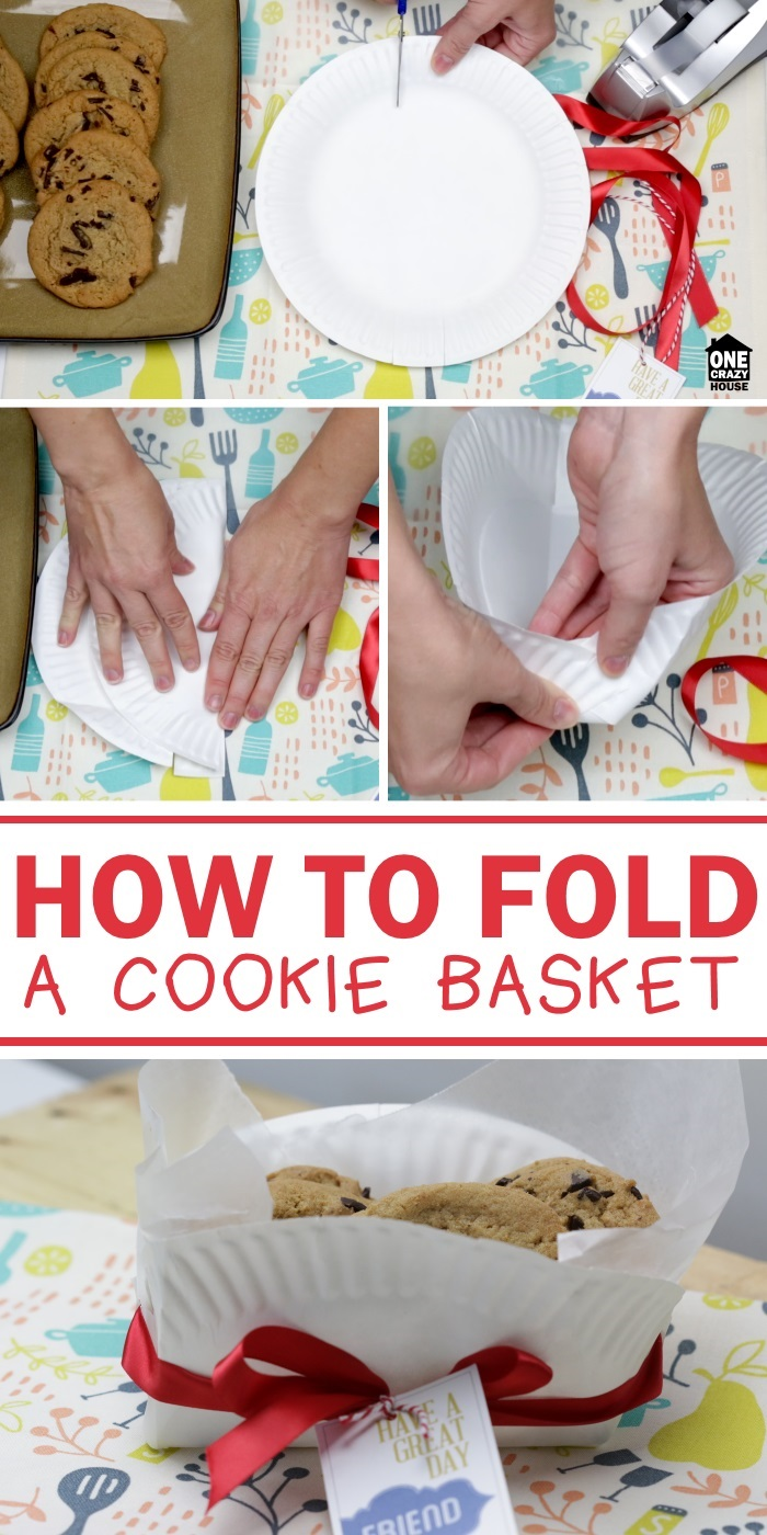Gift Idea: How to Fold a Cookie Basket