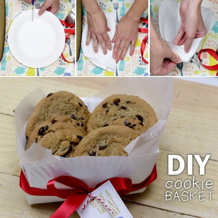 How to Fold a Cookie Basket for Gift Giving
