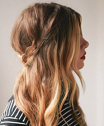 Half Up Hairstyles 14. Via Total Beauty. If You Have Super Long Hair ...
