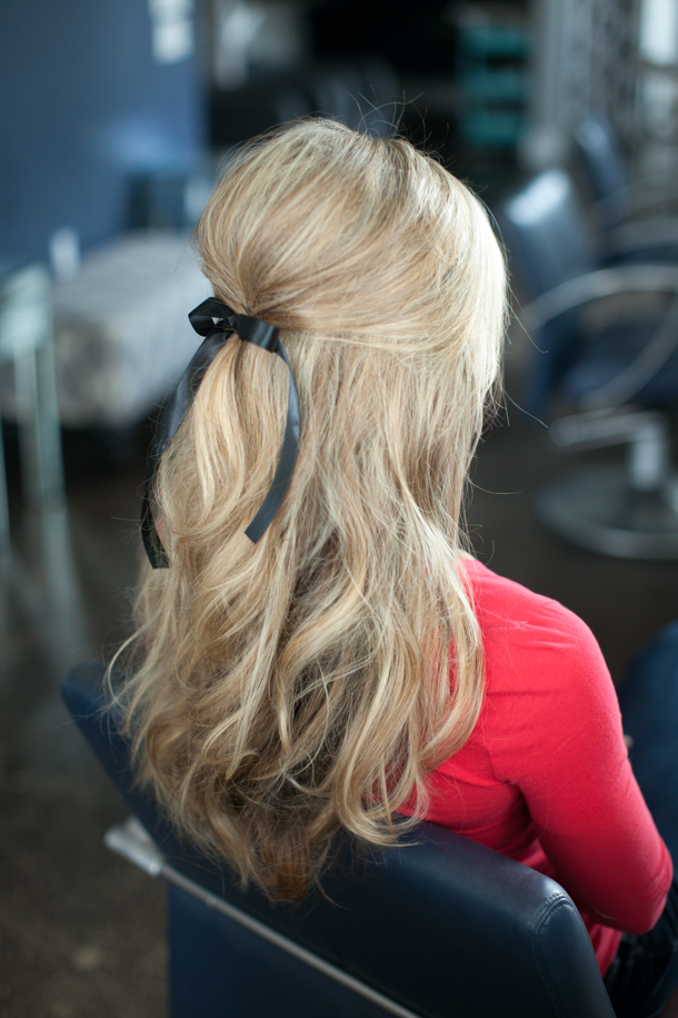 half up hairstyles 7