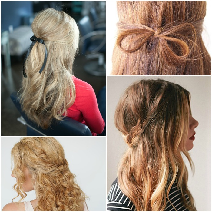 Simple Hairstyle Half Up Ideas