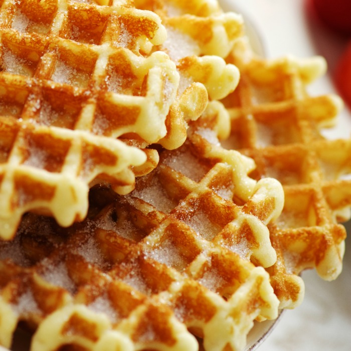 homemade waffles keep well in the freezer